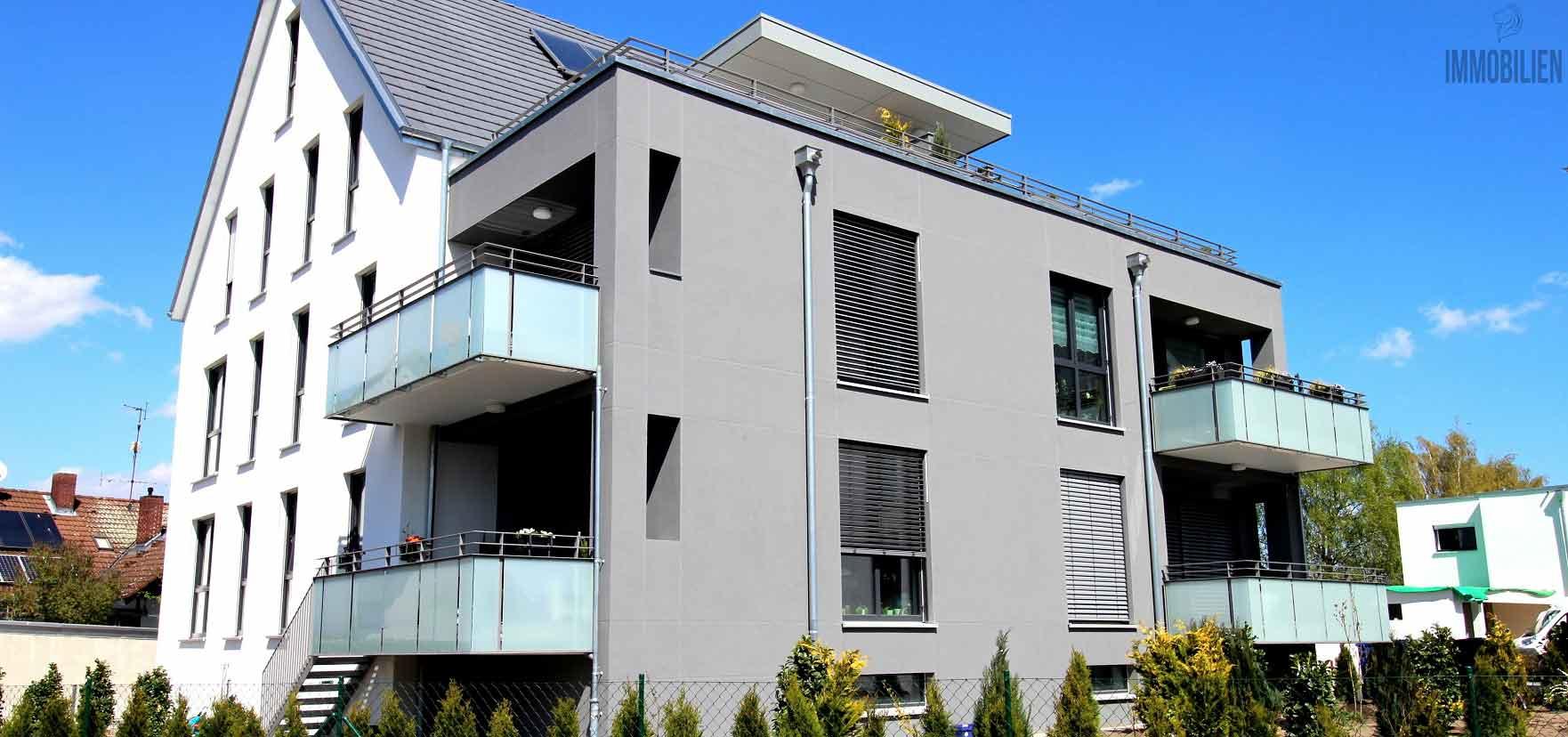 Neubau-Mehrfamilienhäuser
